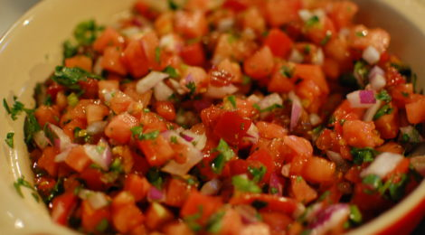 Authentic Fresh Salsa