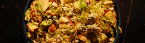 Harvest Brussel Sprout Salad