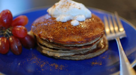 Grain-Free Winter Squash Pancakes