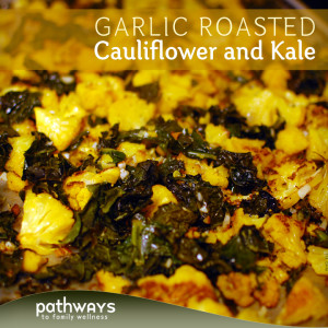 Garlic-Roasted-Kale-and-Cauliflower-Graphic