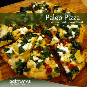 Paleo Cauliflower Pizza Crust