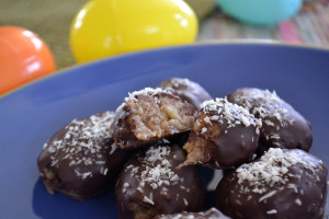 Chocolate Covered Almond Eggs 014