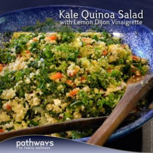 Kale Quinoa Salad Graphic
